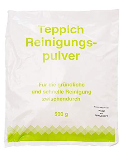 Vorratspackung 5x Teppichreinigungspulver geeignet für Vorwerk Teppichreiniger mit Zitrusduft 2500 Gramm für ca.100qm unbegrenzte Haltbarkeit
