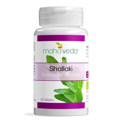 Phytosud Shallaki Bio/Extrait de Boswellia Bio Standardisé en Acides Boswelliques pour des Articulations Détendues/Confortables
