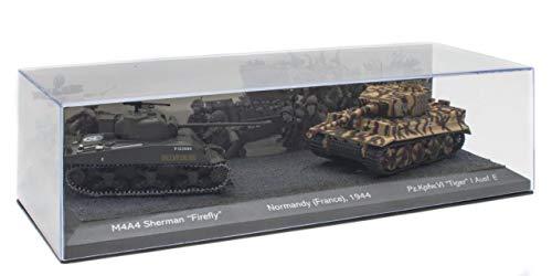 OPO 10 - 2er Set 1/72 Panzer: M4A4 Sherman Firefly gegen Pz.Kpfw. VI Tiger I AUSF. E (T902)