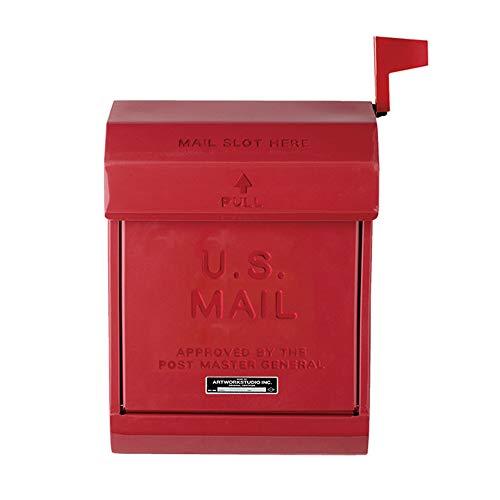ART WORK STUDIO U.S. Mail box 2 メールボックス2 レッド TK-2078