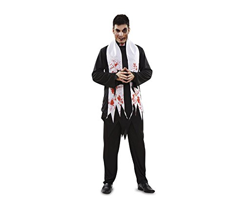 Disfraz de Cura Zombie para Halloween de hombre talla M-L