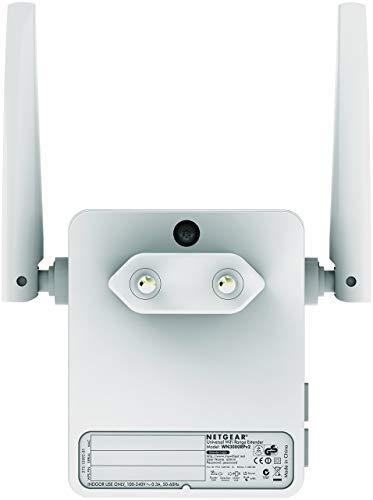 NETGEAR Répéteur WiFi (EX2700), Amplificateur WiFi N300, WiFi Booster, supprimer les Zones mortes, jusqu'à 55m² et 10 Appareils, Boost le Signal jusqu'à 300 Mbps, compact