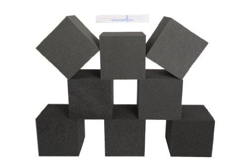 8 Stück Schaumstoff Würfel 20x20x20cm Spiel Bausteine, Dekowürfel, Therapiehilfe