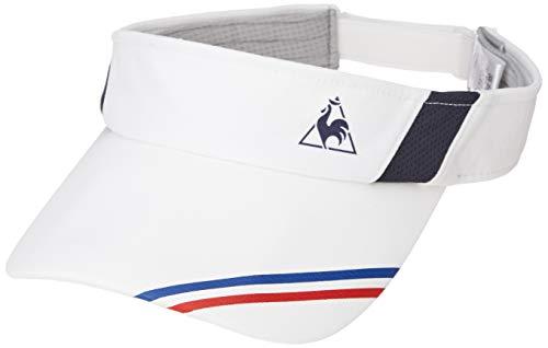 [ルコックスポルティフ] サンバイザー 帽子 QTALJC01 ホワイト 日本 L (日本サイズL相当)