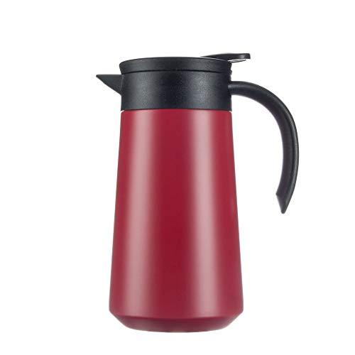 YSXCFH 800 Ml Dubbelwandige Vacuümthermosfles | Thermische Koffie Karaf | 304 RVS Theepot | 12 uur Warmteopslag