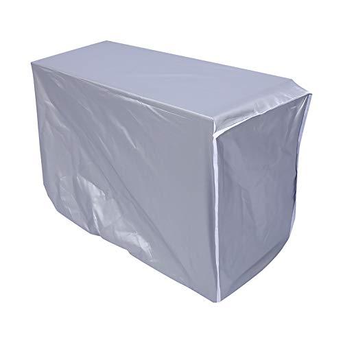 Nicoone - Copertura per condizionatore d'aria, anti-polvere, anti-neve, impermeabile, protegge per la casa, 94 x 40 x 73 cm