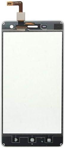 GANK XMI AYSMG de Panel táctil de Cristal digitalizador Parte de la Lente for Xiaomi Mi4 (Blanco)