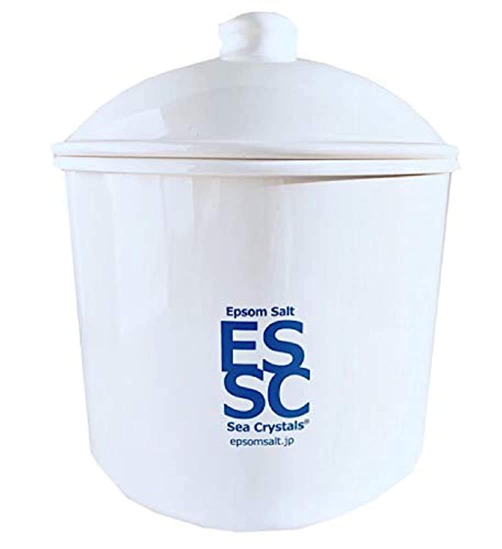 リビジョンピースチェスシークリスタルス 国産 エプソムソルト 入浴剤 ケース入り2.2kg 約14回分 計量スプーン付き 無香料 硫酸マグネシウム