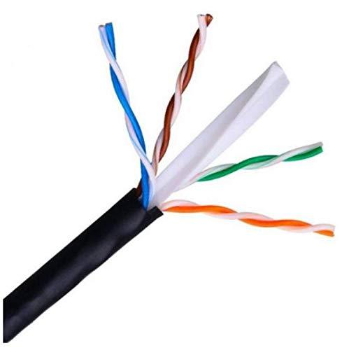 Bobina de Cable de Red UTP Cat 6 para Exterior 100% Cobre de 100m