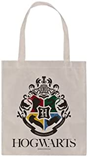 Harry Potter Hogwarts Tote Large Bag 40cmx38cm official license product Cotton canvas fabric Shopping Baskets