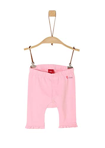s.Oliver Junior Baby-Mädchen 405.10.005.18.183.2038663 Leggings, 4145 Light pink, 80/REG