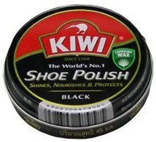 [Kiwi] 油性靴クリーム シュー ポリッシュ SHOE POLISH 黒 100ml 【 さっと一拭き、簡単手軽に靴のメンテナンス】 [並行輸入品]