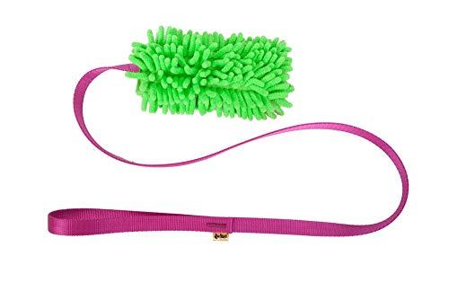 Dingo Mop auf Langes Band länge 130 cm Farbmix Agility Hundespielzeug 15577