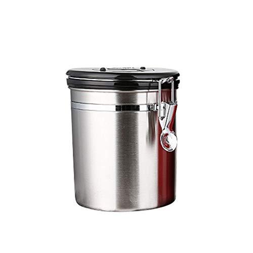 Vokmon Acero Inoxidable Sellado hermético Frasco de café Harina Azúcar Té contenedores Botellas de Cocina Tarros Cajas