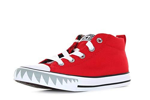 Converse Chuck Taylor All Star Street Shark Bite Zapatillas Moda Chicos Rojo - 31 - Zapatillas Altas Shoes