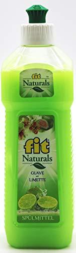 fit Naturals Guave-Limette Geschirrspülmittel, 24er Pack (24 x 500ml)