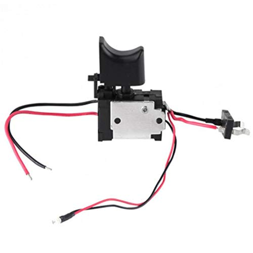 LQKYWNA Rechargeable Drill Switch 16a Drill Trigger Switch 7.2 V-24 V Button Controlling Drill Regulator Switch Replacement