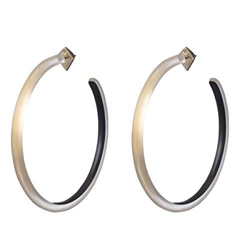 Alexis Bittar Women's Large Skinny Hoop Earrings Gold