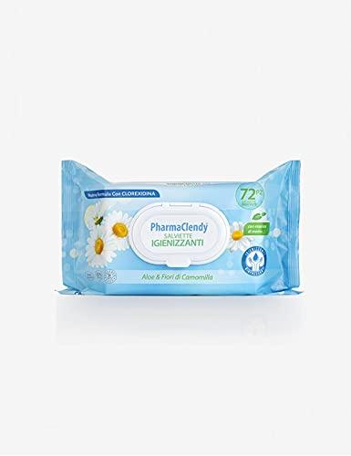Clendy - PharmaClendy - Antibacteriële doeken 72 stuks met chloorhexidine