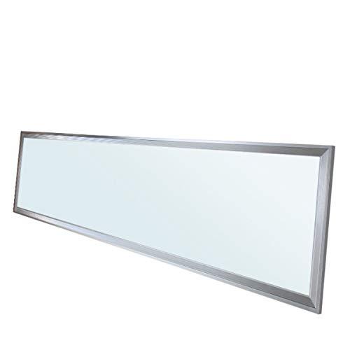 ECD Germany LED Panel 42W - 120 x 30 cm - DIMMBAR - SMD 3014 - Kaltweiß - 6000K - 96-265 V - ca. 4200 Lumen - Einbauleuchte Deckenleuchte