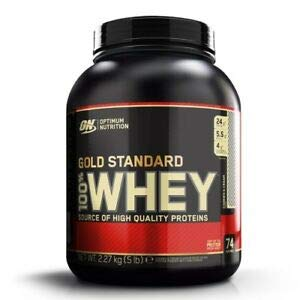 OPTIMUM NUTRITION100% WHEY GOLD STANDARD (2,27 KGS) - COOKIES & CREAM