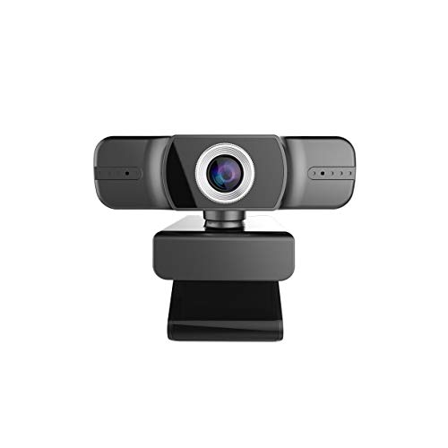 ZLDQBH Manuale HD Computer funzioni di Messa a Fuoco della videocamera di Doppio Microfono Multi Conferenza Fotocamera con Zoom Ottico grandangolare AF View