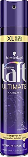 3 Wetter taft Haarlack Ultimate ultimativ starker Halt 6, 6er Pack(6 x 300 ml)