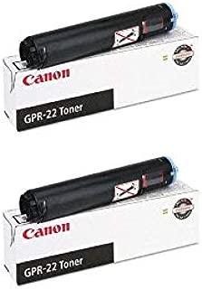0386B003AA GPR 22 OEM Toner Cartridge 2 Pack, 8400 Page-Yield Per Ctg, Black