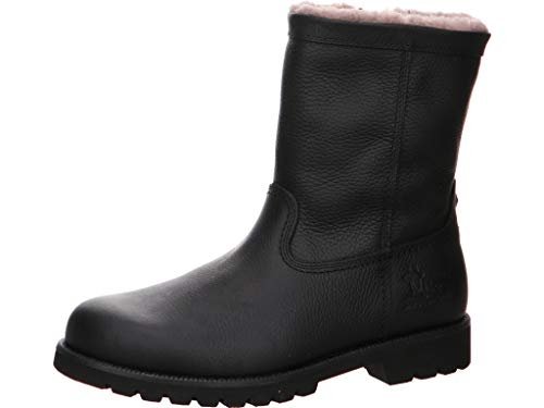 Panama Jack Herren Fedro Igloo Boots klassischer Stiefel Größe 42 EU Schwarz (schwarz)