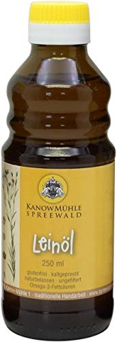 Kanow Mühle, Spreewald - Spreewälder Leinöl, Premiumqualität - 250 ml