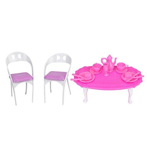 SM SunniMix 1/6 Silla de de Comedor para Muebles de Sala de Estar de Casa de Muñecas