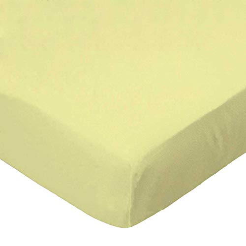 Save %54 Now! SheetWorld 100% Cotton Percale Extra Deep Fitted Portable Mini Crib Sheet 24 x 38 x 5....