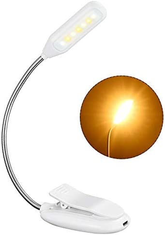 Rechargeable Book Light up to 60 Hours Reading TOPELEK 7 LED Reading Light with 3 Brightness product image