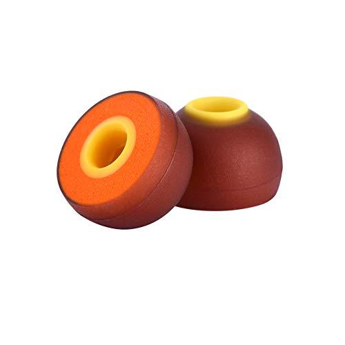 Dgaddcd Ersatz Earbuds für B&O Play Beoplay H3/H5/E4/E6/E8 Wired Headset, Silikon Zweifarben Ohrkappe Weich Schwamm Ohrstöpsel