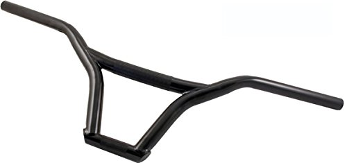 RMS Manubrio in Acciaio per BMX/Freestyle Nero Steel Handlebar for MTB/Freestyle Black