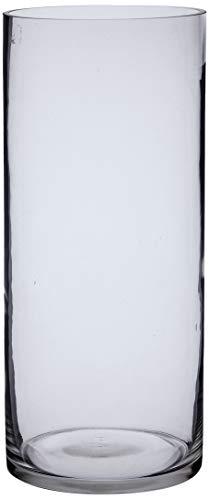 Better & Best Cristal Gr 15X35 Florero Grande Redondo rect0, Medidas 15x15x35 cm, Material