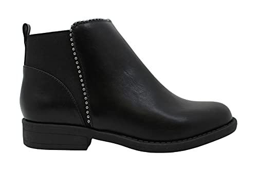 Rampage Girls LEIA Ankle Boots & Booties Zip Chelsea Black