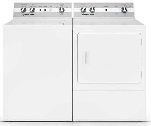 Speed Queen Laundry Pair TC5000WN 26' Top Load Washer and DC5000WE 27' Electric Dryer