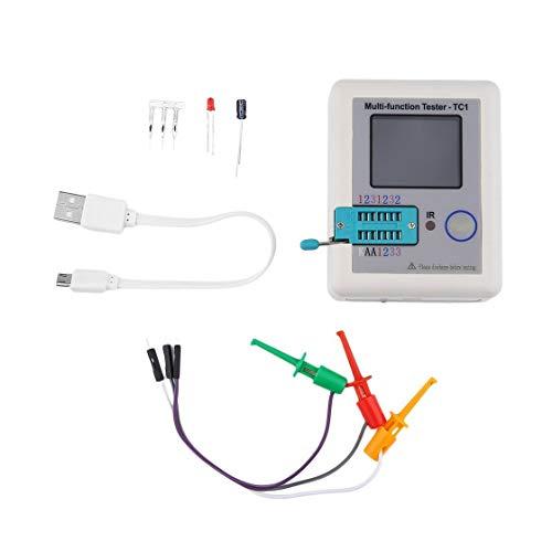 Jessicadaphne LCR-Tc1 3,5-Zoll-Tft-Bildschirm Bunte Anzeige Multifunktions-Tft-Hintergrundbeleuchtung Transistor Tester Diode Triode Kapazitätsmesser