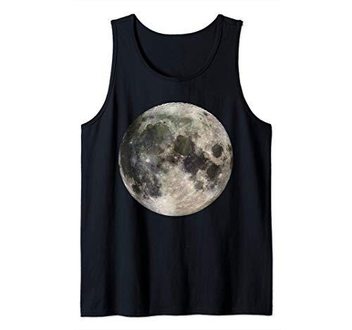 Camisa Luna Llena - Astronomía Ciencia Espacial Lunar aterri Camiseta sin Mangas