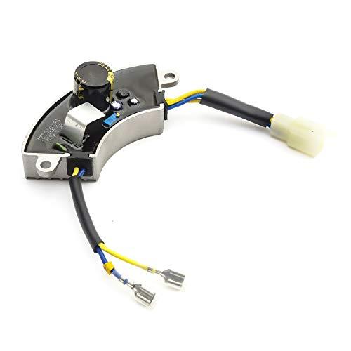No Originales Voltaje Regulador 2-7 Kw Avr Carbono Cepillo Para GX200 Cortacésped