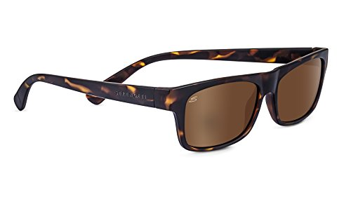 Serengeti Eyewear Sonnenbrille Rapallo, Sanded Dark Tort/Polarized Drivers Gold, 8367