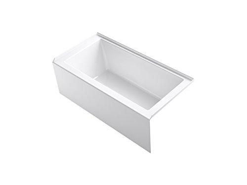 KOHLER 20201-RA-0 Underscore Bathtub, White