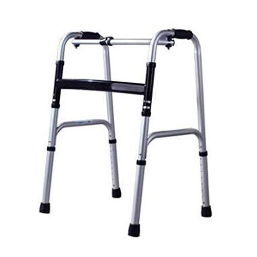 Lianganan Ancianos empuje Walker Andador de aleación de aluminio de la mano Walker antideslizante bastón con el Hospital