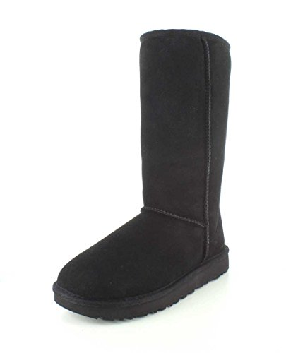 UGG Female Classic Tall II Classic Boot, Black, 7 (UK)