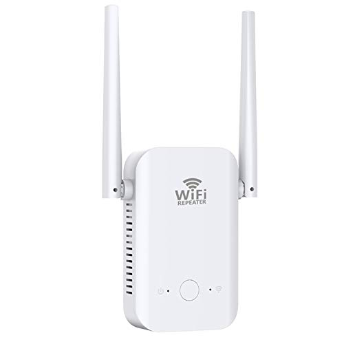 WiFi Range Extender Signal Booster for Home, Repeater 800FT 2.4 GHz WPS Booster WPS Easy Setup, Work with Any WiFi Routers Enjoy Gaming Movies