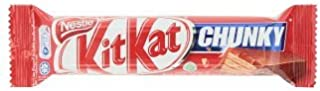 Kit Kat Chunky Wafer Finger in Milk Chocolate 1.34 Ounce (Pack of 5)