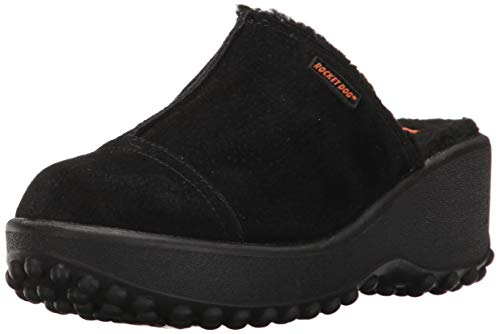 Rocket Dog Women's Frannb Mule, Black, 6.5 M US