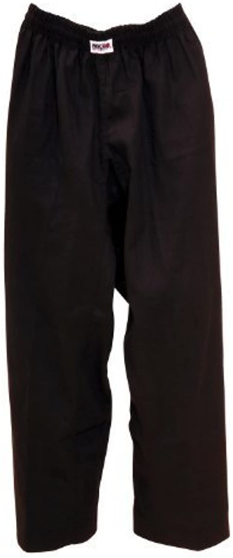 Macho 7oz Student Karate Gi Pants–schwarz Größe 5by Macho Martial Arts