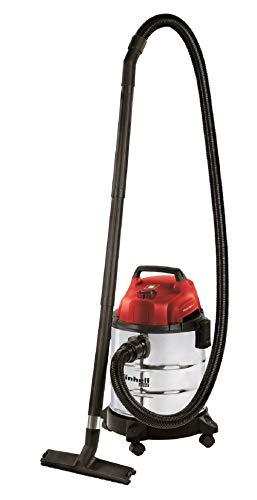 Einhell Nass-Trockensauger TC-VC 1820 S (1250 W, 20 L, Blasanschluss, Zubehörhalterung, inkl. Kombidüse Nass-/Trockensaugen, Fugendüse, Plastikschlauch 1,5m, 3tlg. Plastikrohr, Schaumstofffilter)